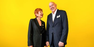 Margaret and Ron Dobell. By Giulia McGauran.