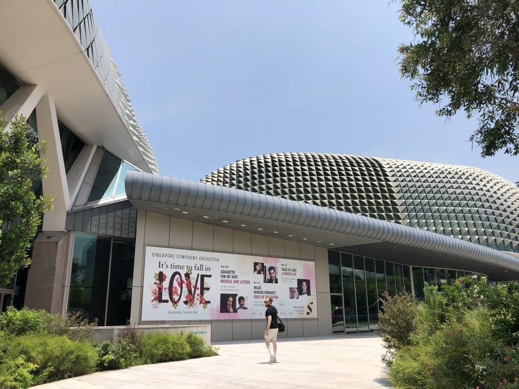 The Esplanade Concert Hall, Singapore. By Paul Dalgarno.