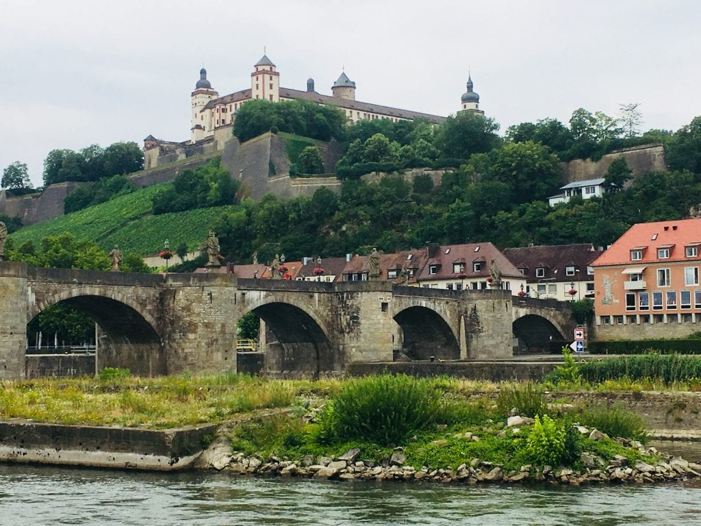 Marienberg Fortress and Alte Mainbrücke, Würzburg. Image supplied.