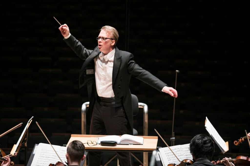 Conductor Richard Davis in Singapore. By Lori Wu.
