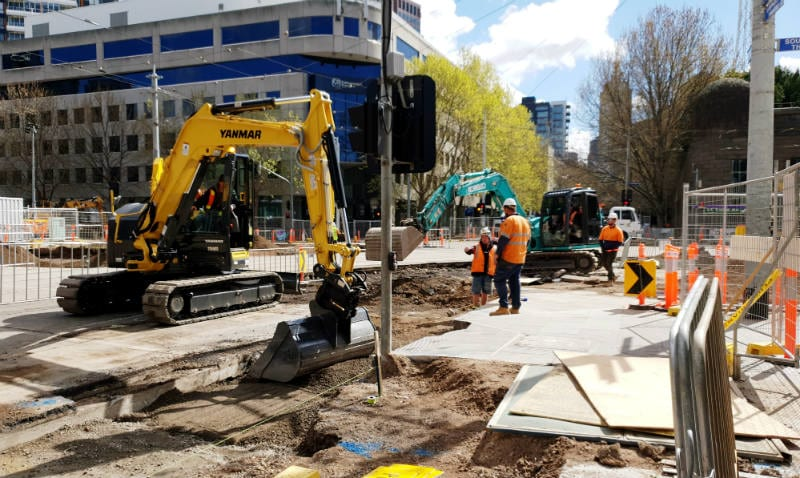 The Arts Precinct is currently undergoing huge transformation. Photo by Susanna Ling.
