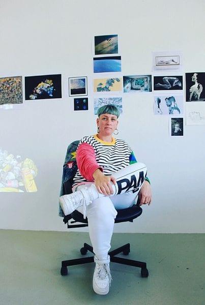 Yandell Walton at the VCA PHASMID Studio, Berlin. By Paul Dalgarno.
