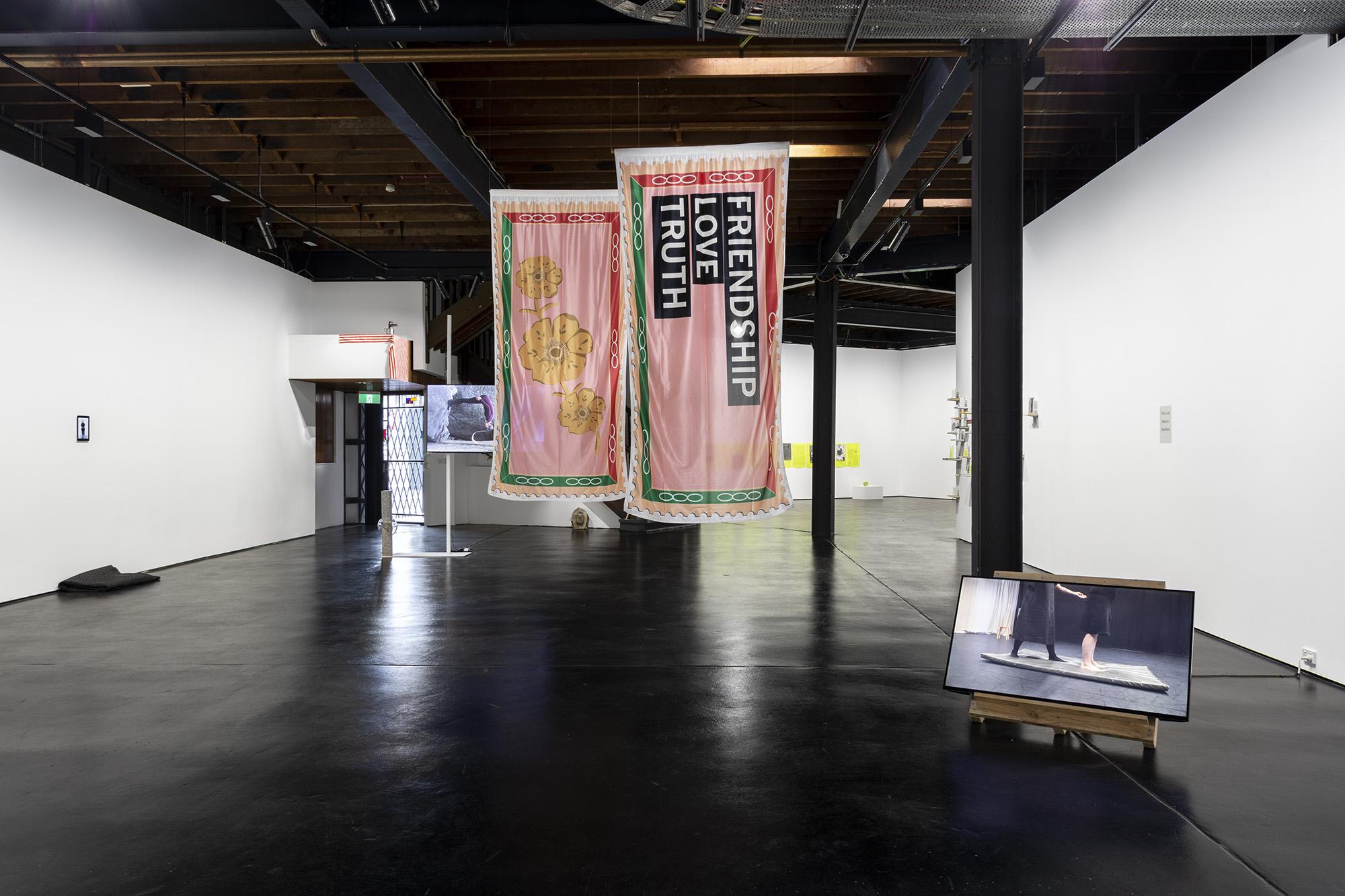 Manifesto install documentation, 2019, documentation by Christo Crocker
