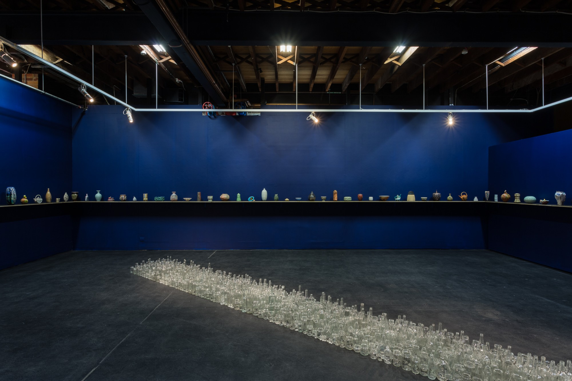 Empty Vessels install documentation, 2017, documentation by Christo Crocker