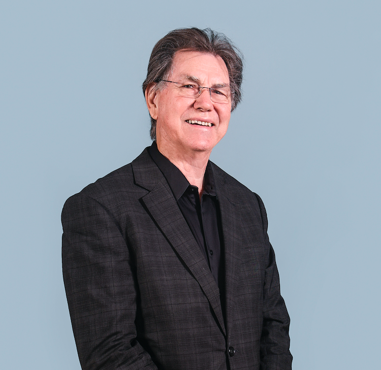 Professor Barry Conyngham, Dean of the Faculty of Fine Arts and Music, 2010–2020. By Giulia McGauran.