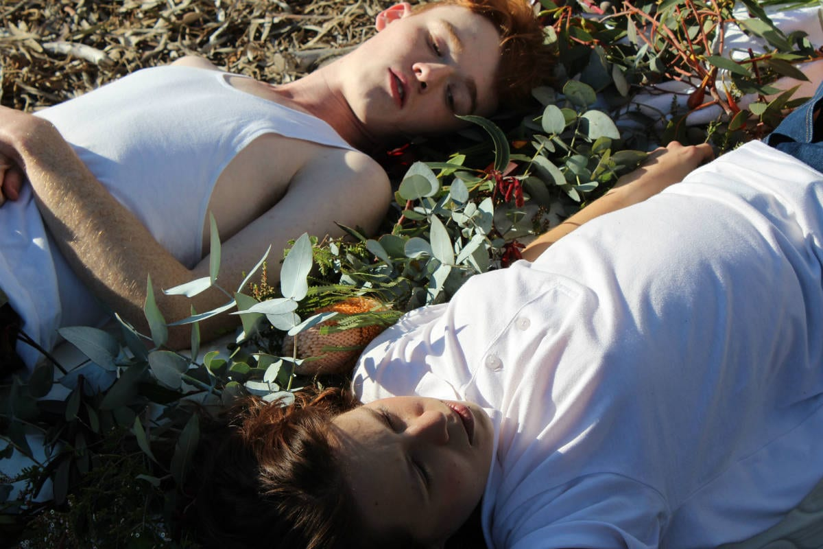 Isabelle Ford and Conor Leach in Hell's Canyon, by Emily Sheehan. Photo by Ellen Stanistreet.