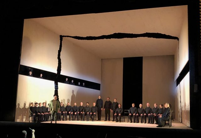 Richard Roberts' set design from Parsifal (2019), Victorian Opera. Supplied.