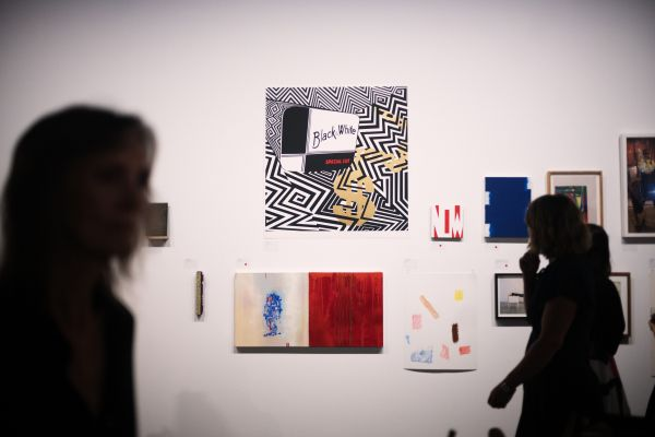 Artists associated with four Melbourne universities donated artworks to the Art Schools for Fire Relief exhibition. By Stephen McCallum.