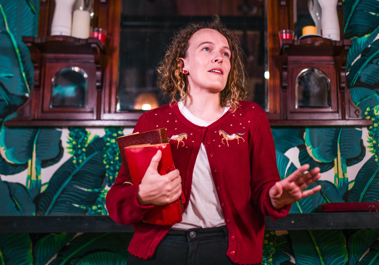 Caitlin Overton, Master of Theatre (Directing) student. Photo by Giulia McGauran.