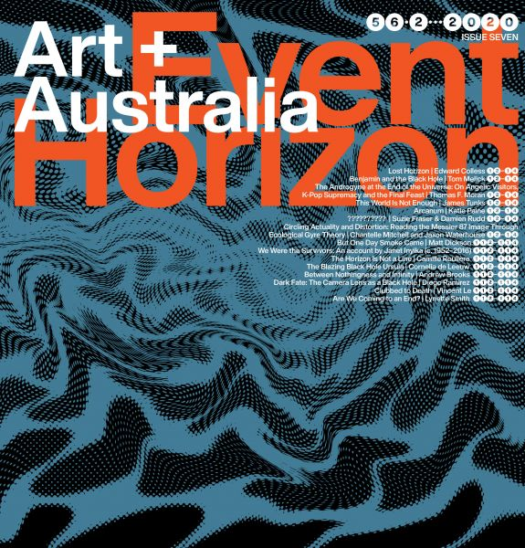 Art + Australia's Event Horizon issue, 2020.