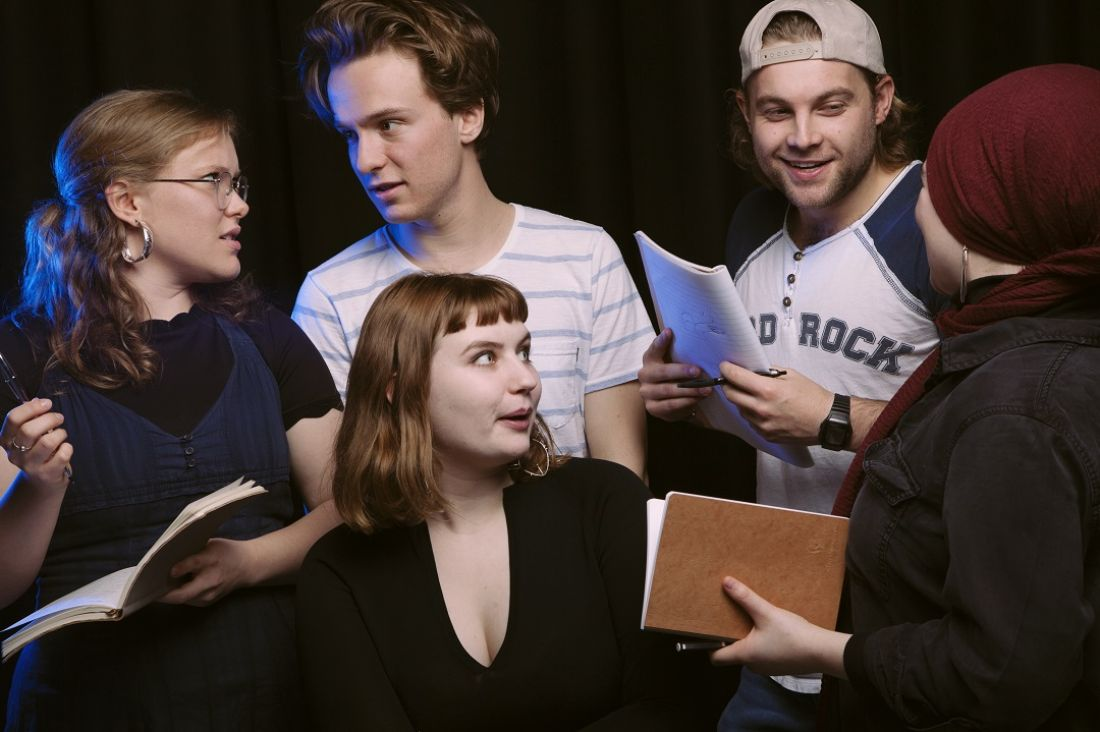 Master of Screenwriting students. Photo by Emma Holland.