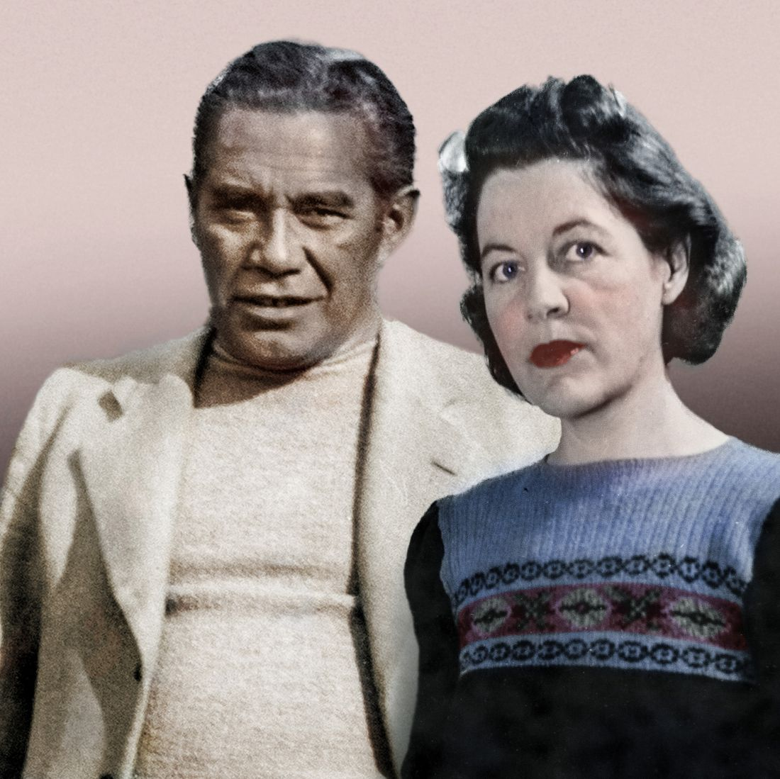 Tiriki Onus' grandparents, Bill and Mary Onus. Supplied.