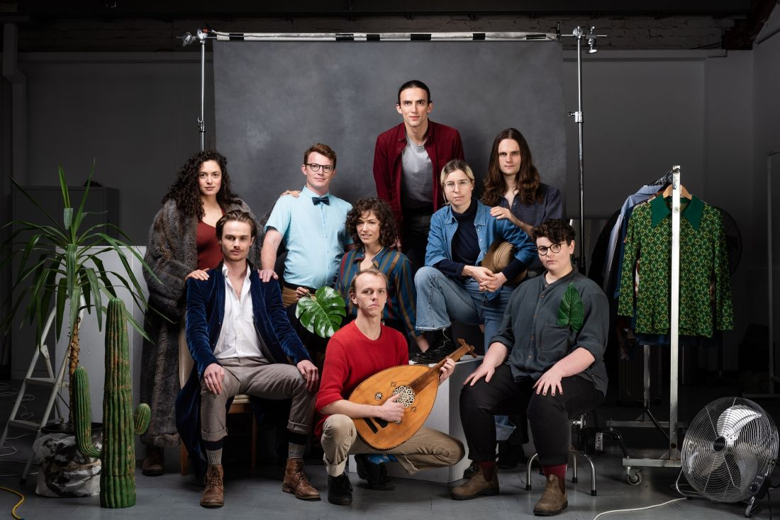 Image of students from the Theatre Company 2019