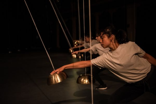 'Pendulum,' as part of RISING Festival, image by Gregory Lorenzutti