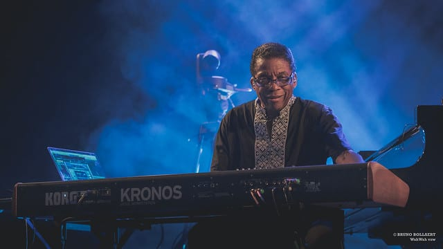 Herbie Hancock / Gent Jazz Festival. By Bruno Bollaert. Flickr.