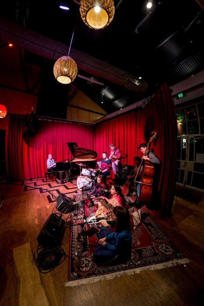Jazz and Improvisation Large Ensemble Showcase, 2017. By Sav Schulman.